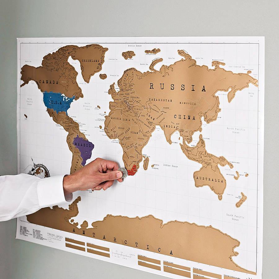 stieracia mapa pre cestovate ov svet xxl dar eky pre ka d ho origin lne. Black Bedroom Furniture Sets. Home Design Ideas