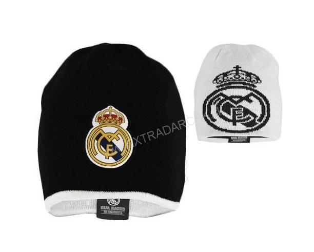 618b876ae Darčeky pre mužov   Obojstranná zimná čiapka Real Madrid - Junior 4 ...