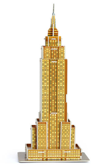 3D Puzzle Empire State Building Stredné