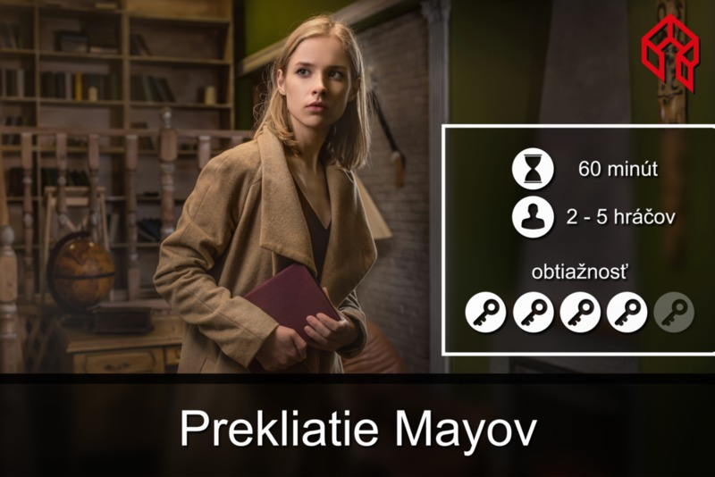 Escape room - Prekliatie Mayov