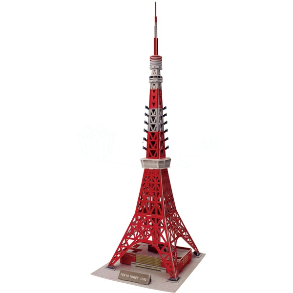 3D Puzzle Tokyo Tower - Stredné