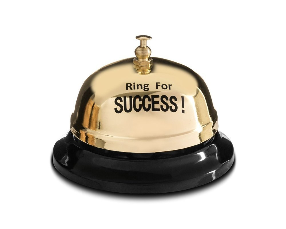 "Stolný zvonček ""Ring for Success"""