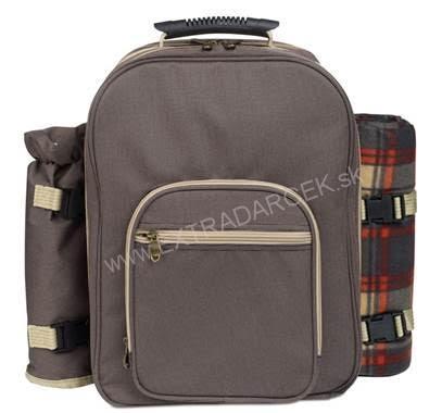 08f1979bcc Popis tovaru. Luxusný a kvalitný piknikový ruksak pre 4 osoby ...