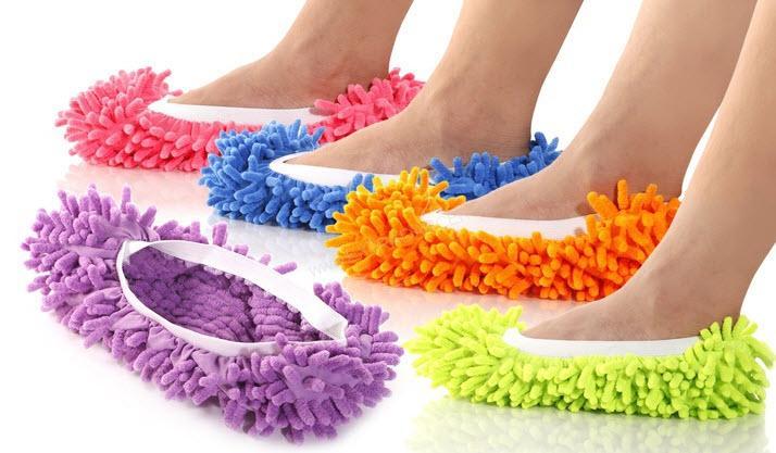 beddcc0b9 Darčeky do domácnosti | Mopové papuče Clean and Go! s gumičkou ...